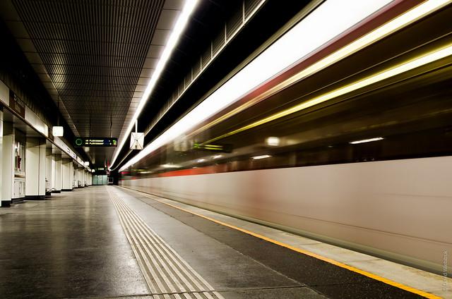 Project 365: #6 - Empty Ubahn