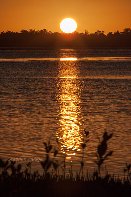 Clarence River sunset