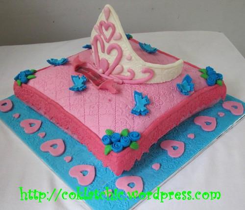 kue ulang tahun mahkota princess ameera jual kue ulang