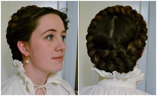 Pinned in Place, 16th Century Italian Braids and Curls on MorganDonner.com