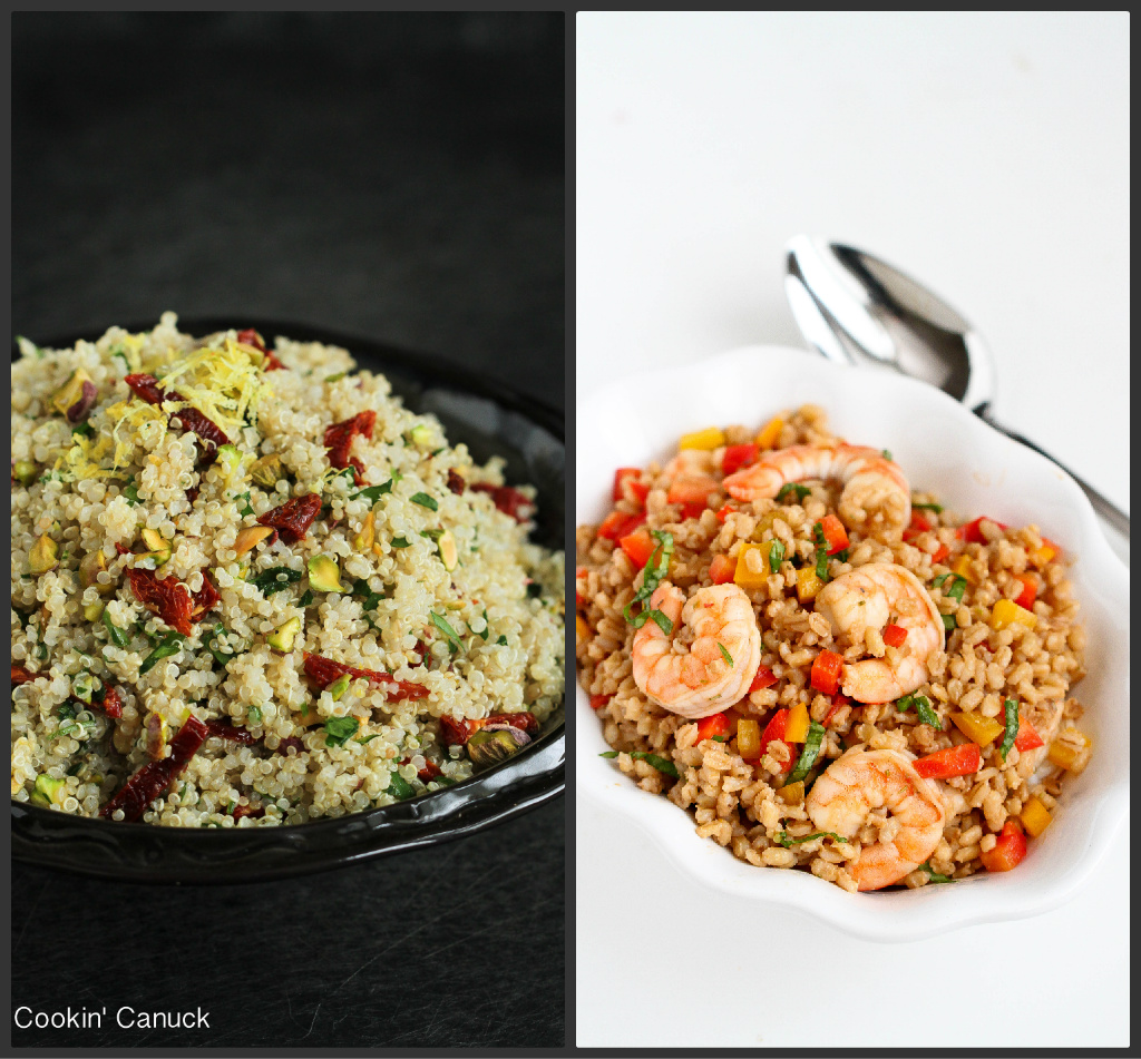 Quick Whole Grain Recipes | cookincanuck.com #recipe #wholegrain
