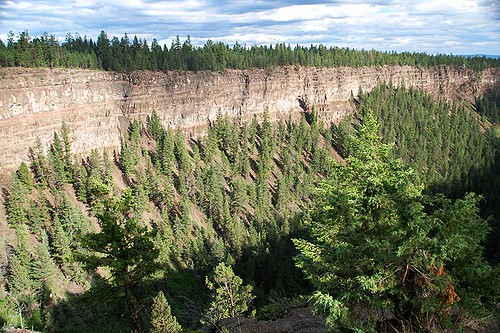 Chasm Provincial Park, 70 Mile House, Highway 97, Cariboo, British Columbia, Canada