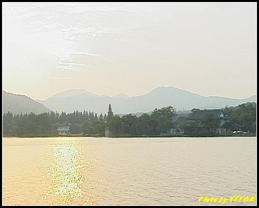 杭州 西湖 (其他景點) - 292 (在西湖十景之 蘇堤 看西裡湖及西湖十景之 花港觀魚)