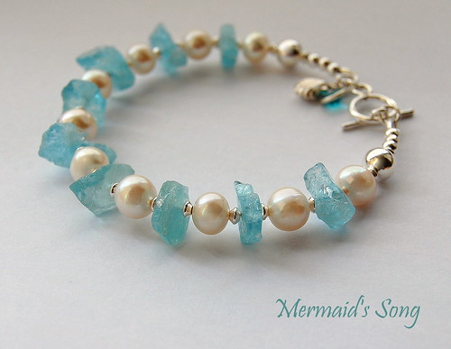 Mermaid's Song Bracelet by gemwaithnia