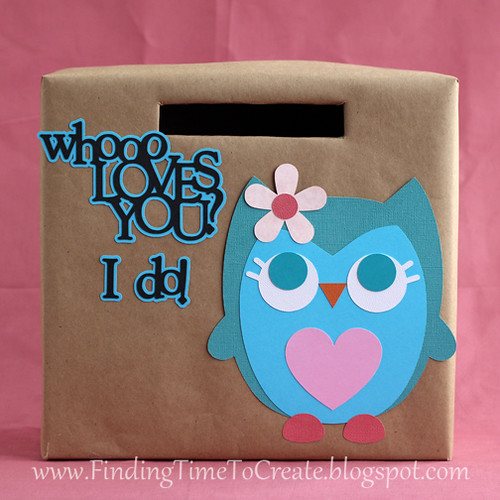 owl valentine collection box