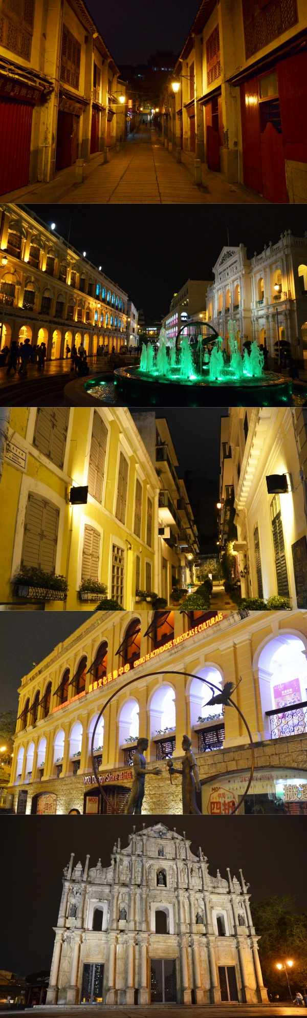 Macau in the Dark Hours