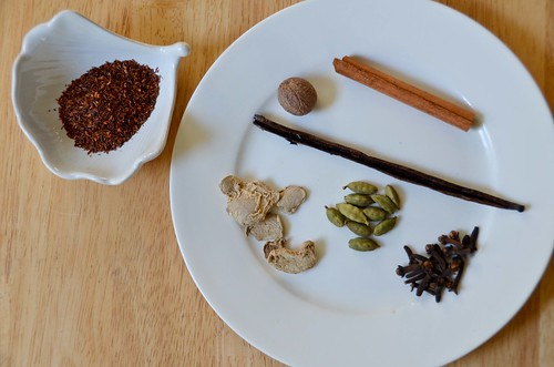 Rooibos Chai Masala Ingredients (tea)