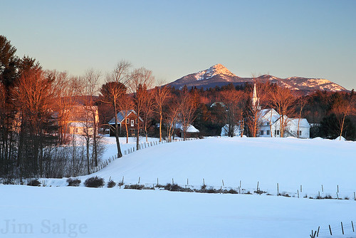 Chocorua Village by Jim Salge