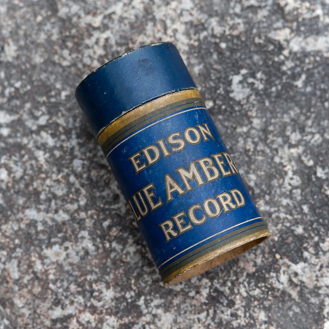 Photo:20140302_201  EDISON BLUE AMBEROL RECORD By peter-rabbit