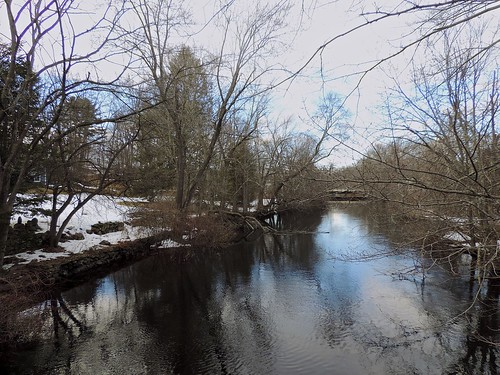 Sudbury River in March by Barbara L. Slavin