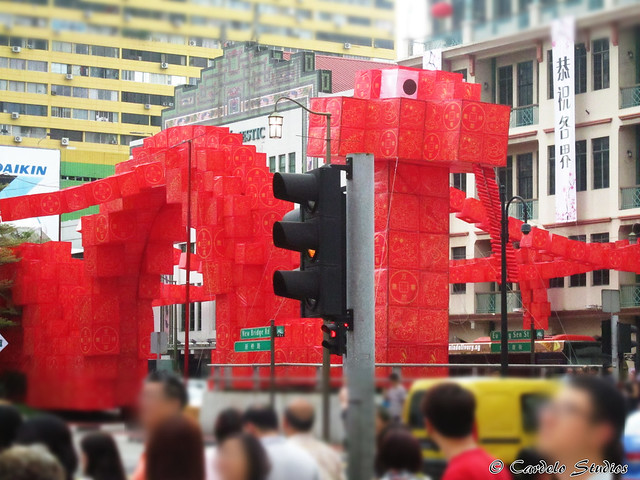 Eu Tong Sen Street & New Bridge Road - Snake 01