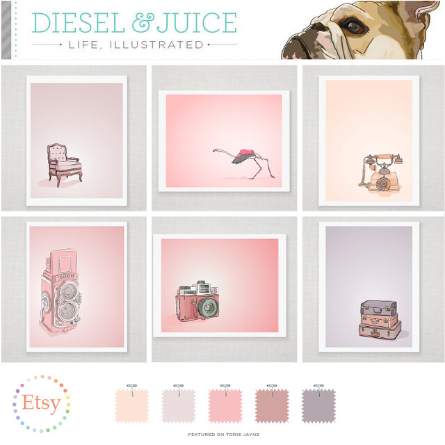 Diesel & Juice on Etsy