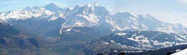 Mt Blanc et vallée