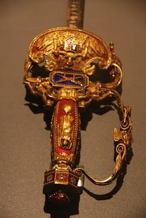Ornate Sword - Army Museum - Toledo