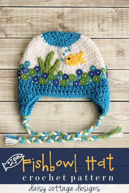 Free Crochet Hat Pattern by Daisy Cottage Designs - this crochet beanie pattern creates an adorable animal hat for babies and kids