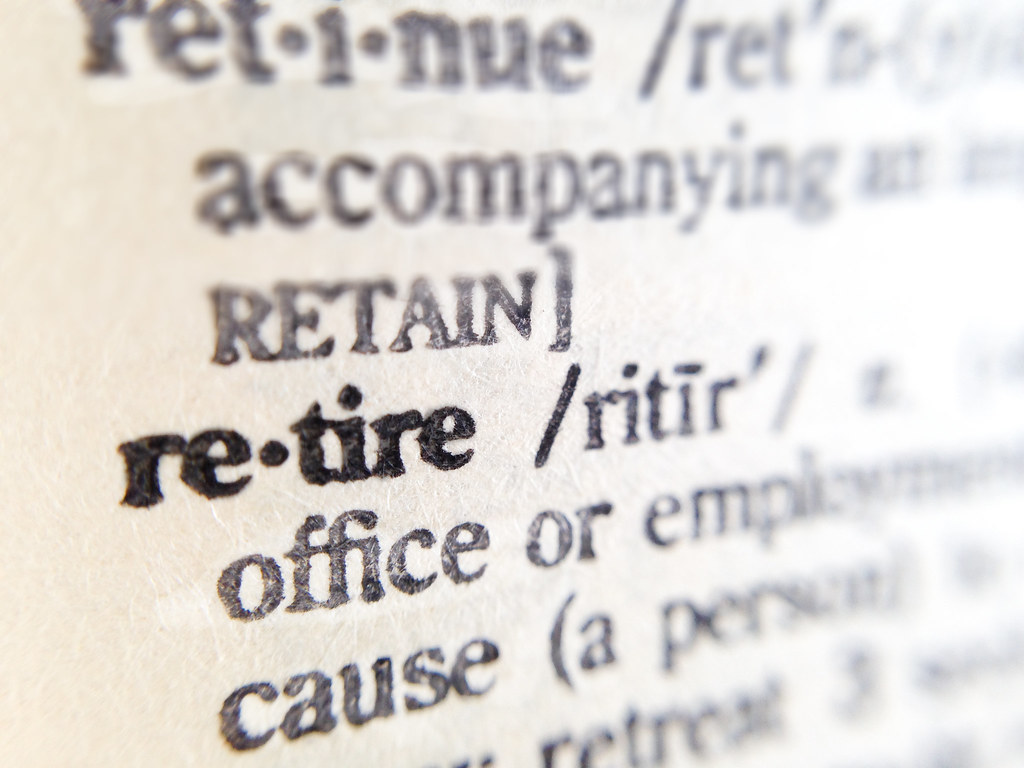 Retire - Dictionary