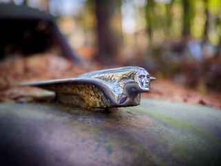 Cadillac Hood Ornament - Old Car City - White, GA