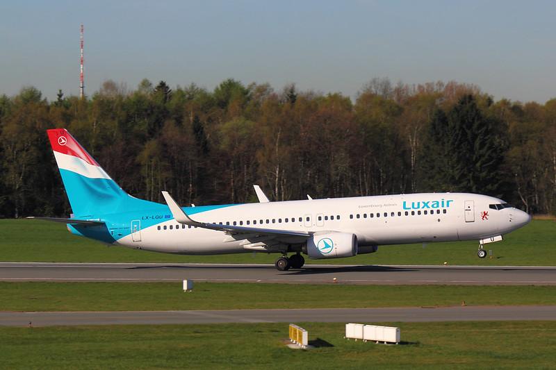 Luxair - B738 - LX-LGU (2)