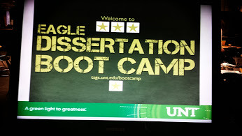 #UNT Dissertation Boot Camp