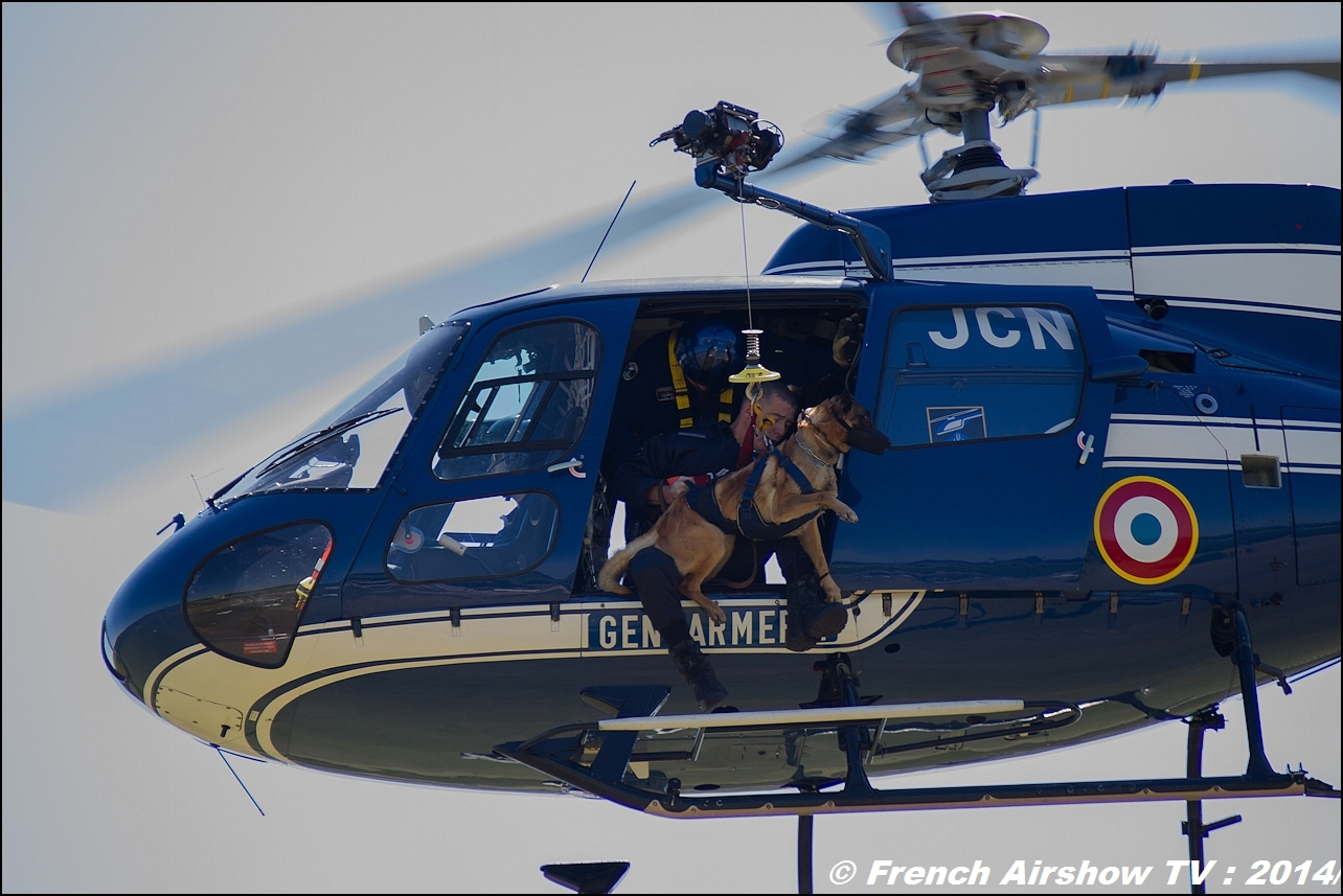 Ecureuil AS 350 Gendarmerie Meeting Aerien Til Chatel 2014