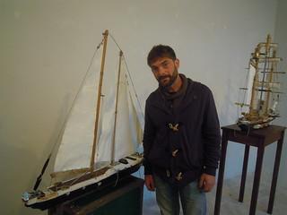 L'artista Vito Valentino