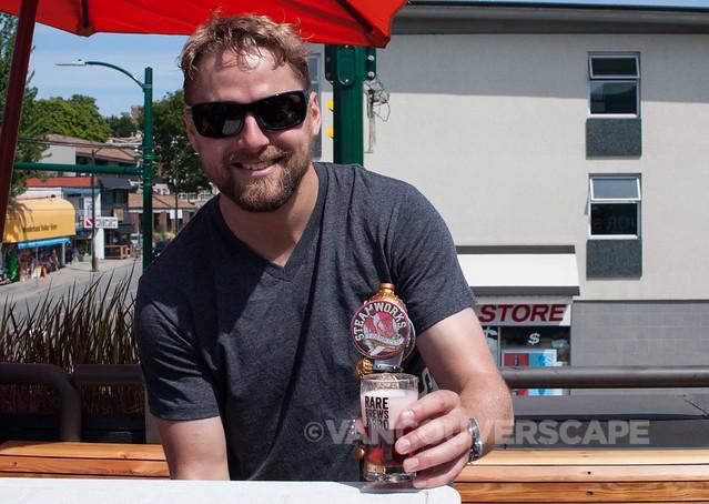 VCBW Rare Brews/Steamworks Brewery's Raspberry Frambozen