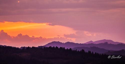 Star Valley Sunset