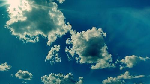 blue sky cloud puglia apulia