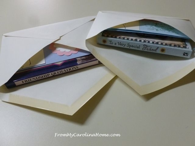 Friendship Cards at From My Carolina Home
