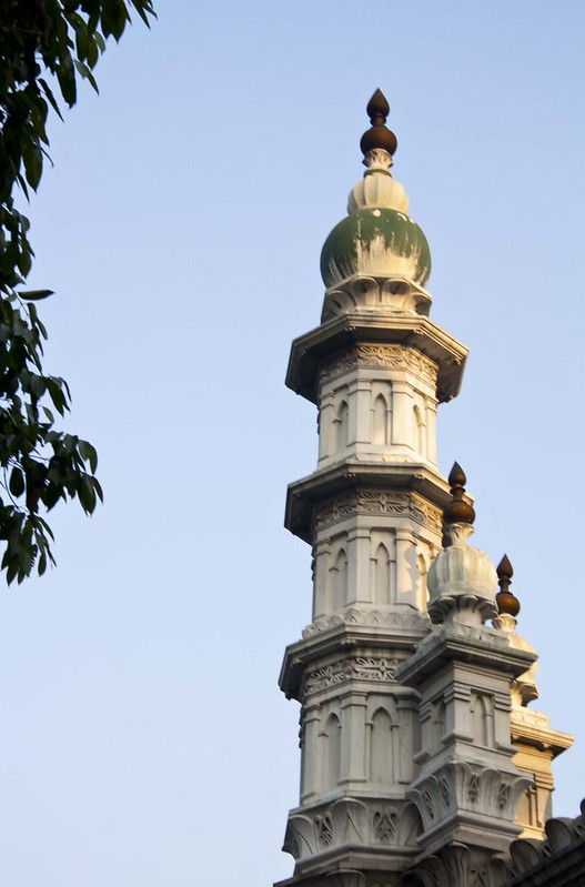 Minarets of Tipu Sultan Mosque - Kolkata, India