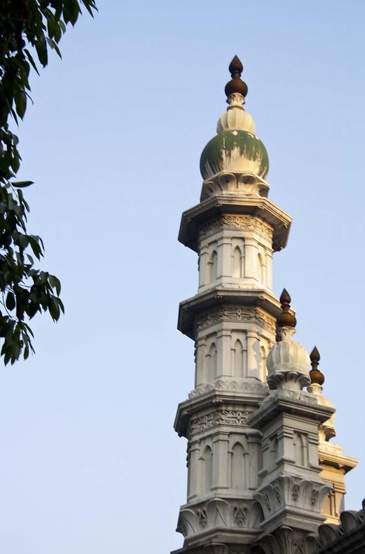 Minarets of Tipu Sultan Mosque - Kolkata, India