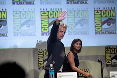Peter Capaldi & Jenna Coleman