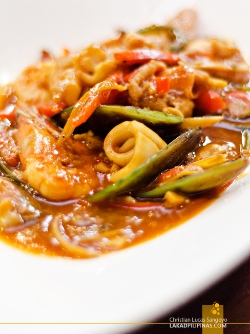 Bistro 360 Cabanatuan Spicy Seafood