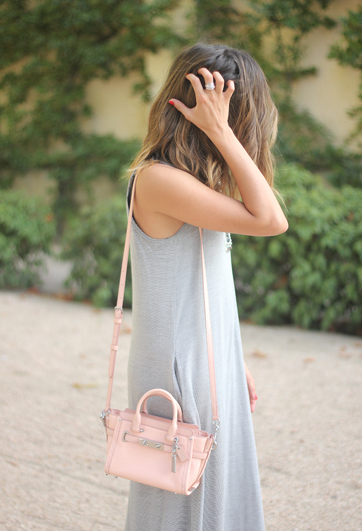 striped maxi dress summer comfy outfit07