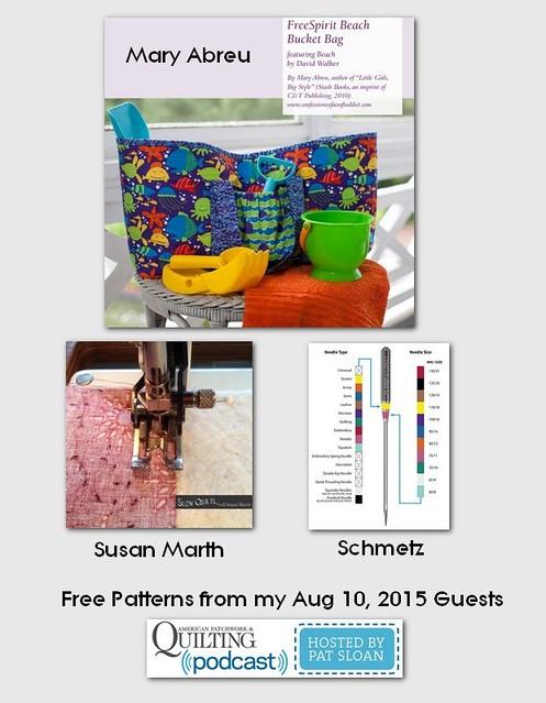 pat sloanAug 10 2015  free patterns