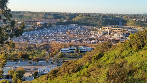 Qualcomm stadium as seen from the edge of Normal Heights.