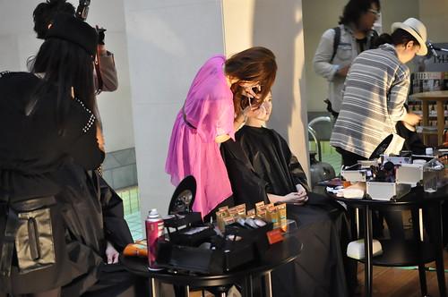 顔ツボ化粧品のBB革命 BBキックオフパーティー