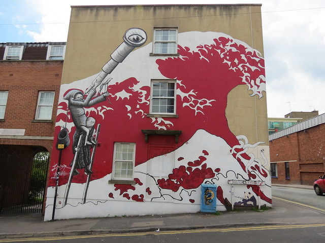 MM13's Great Wave and Phlegm, on Hillgrove Street