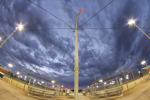 sunset michigan fisheye canton csc mikekline michaelkline notkalvin cantonsoftballcenter safetnet notkalvinphotography