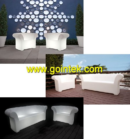 Living Room Furniture Plastic Lighted Sofa With 16 Light Colors Flickr Photo Sharing