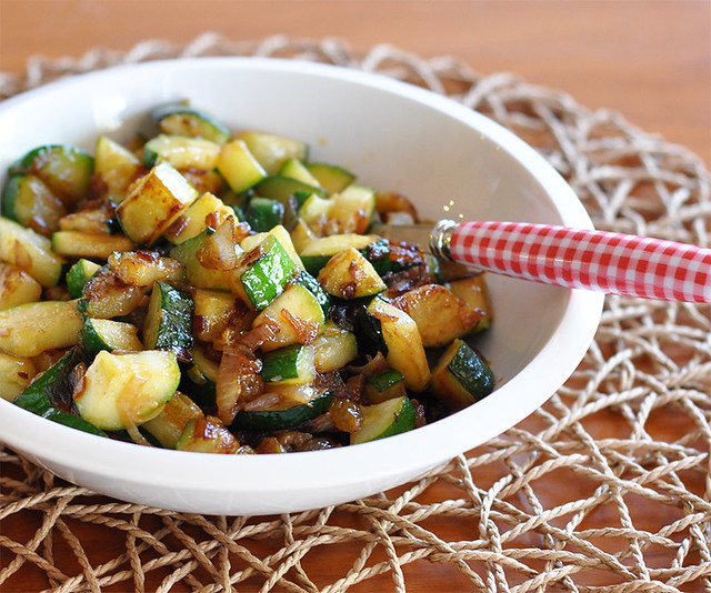 Sautéed Zucchini with Shallots and Golden Raisins | Made In Our ...