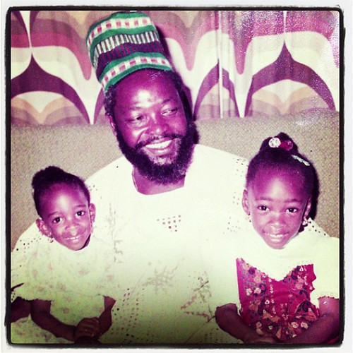 #daddy and his girls. Remembering....and thinking if #father's day