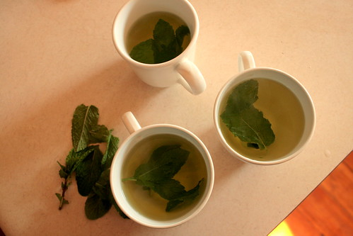 mint tea for three