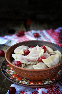 vareniki with cherry