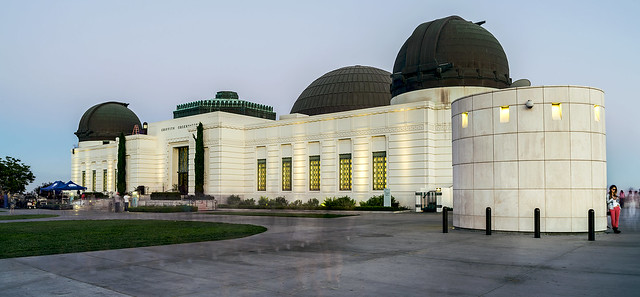 Ghostly Griffith Observatory