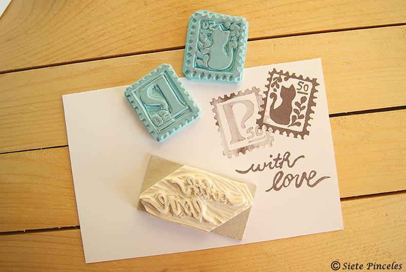 Intercambio Postal hecha a mano 11