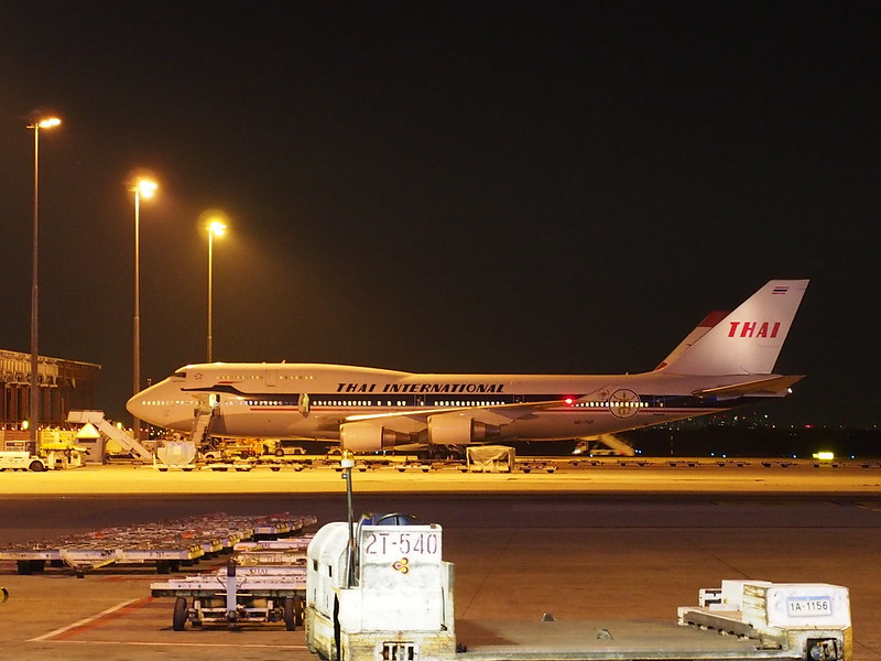 TG B747 in Classic Color Scheme