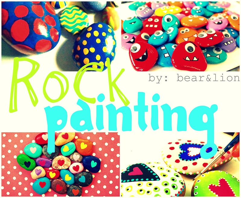 rock painting, crafts, kids crafts,