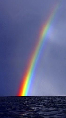 Rainbow at Pollnadivva Pier
