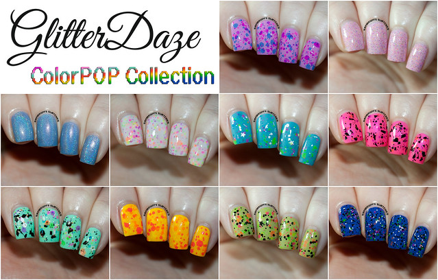 GlitterDaze ColorPOP Collection